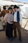 Dressing up, vintage cowboy style